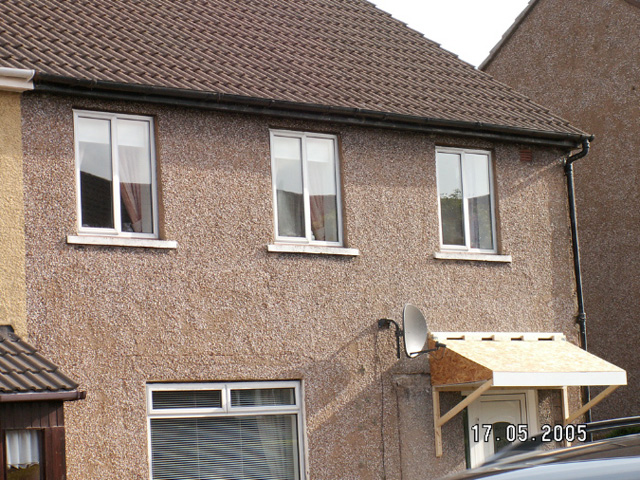 Roughcast Render Before